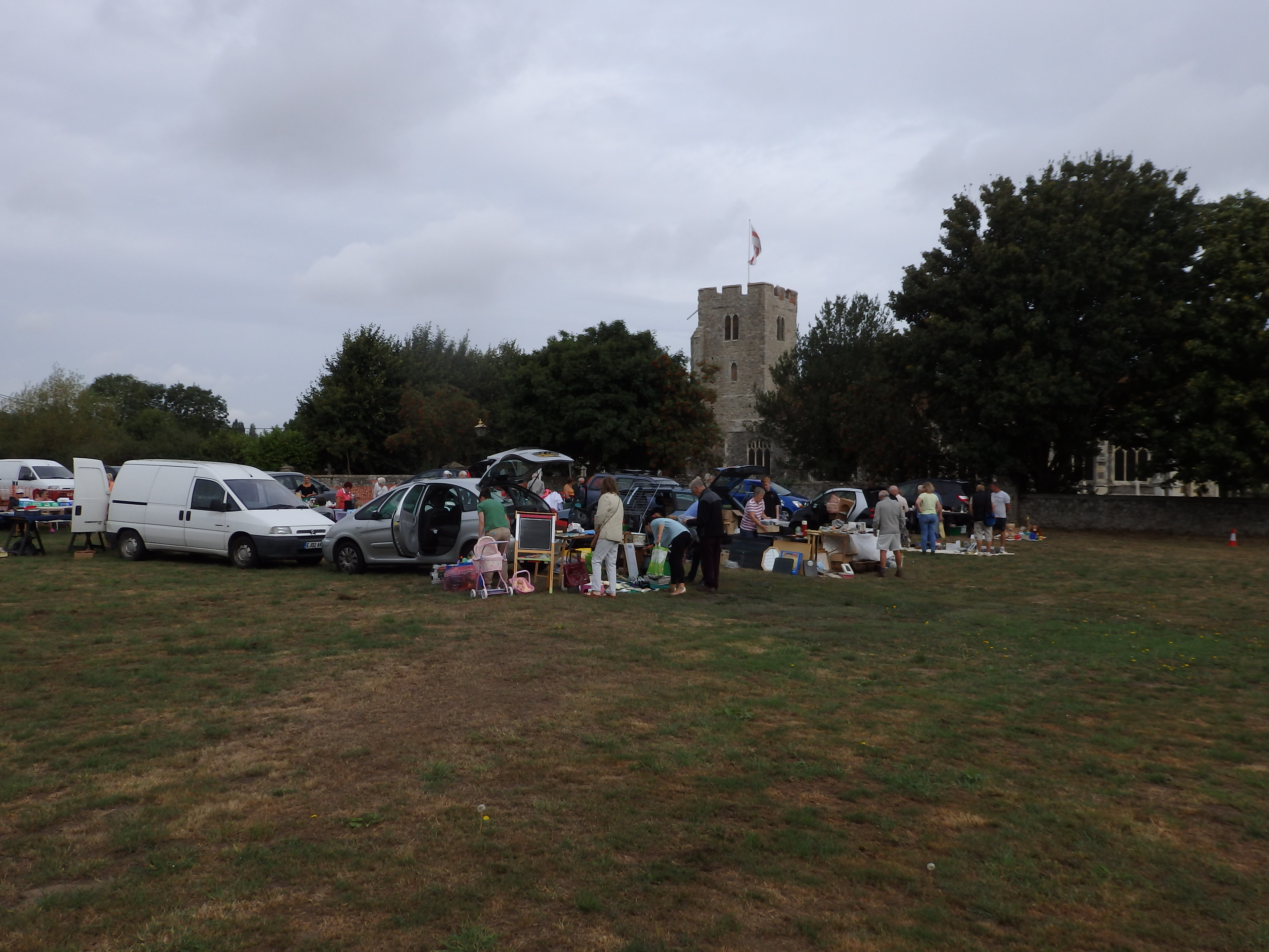 Car Boot Sale at St Mary the Virgin Burnham on Crouch