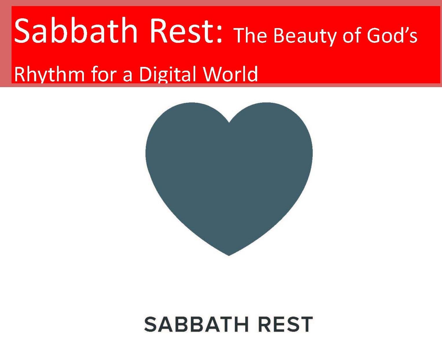 Barking Area Bishops Study Day - Sabbath Rest