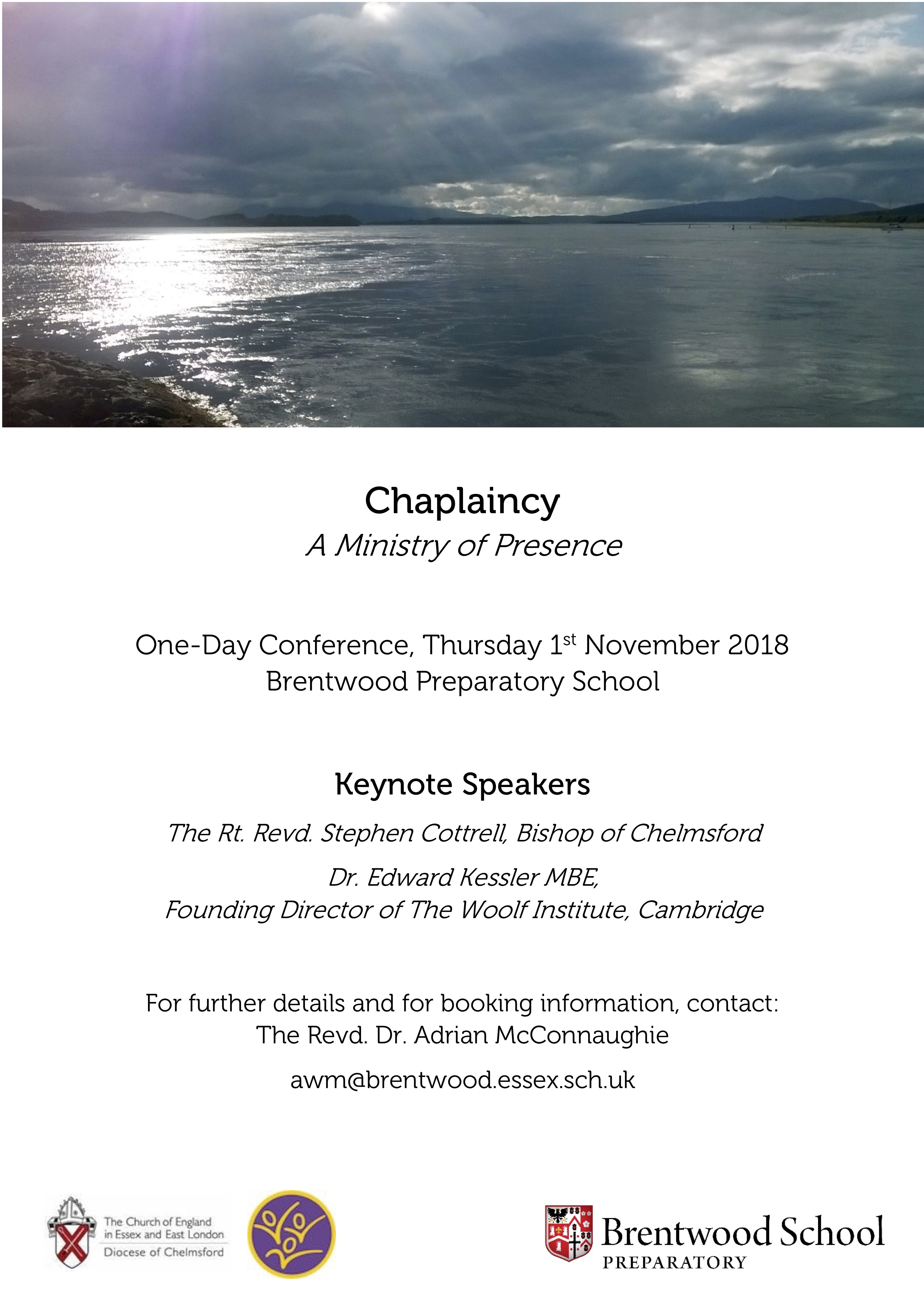 Chaplaincy - A Ministry of Presence - Day Conference