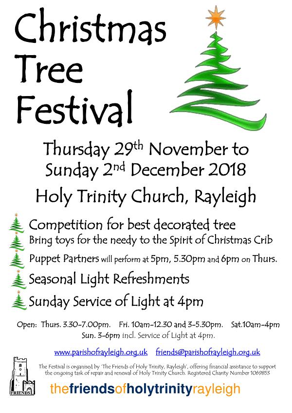 Rayleigh Christmas Tree Festival