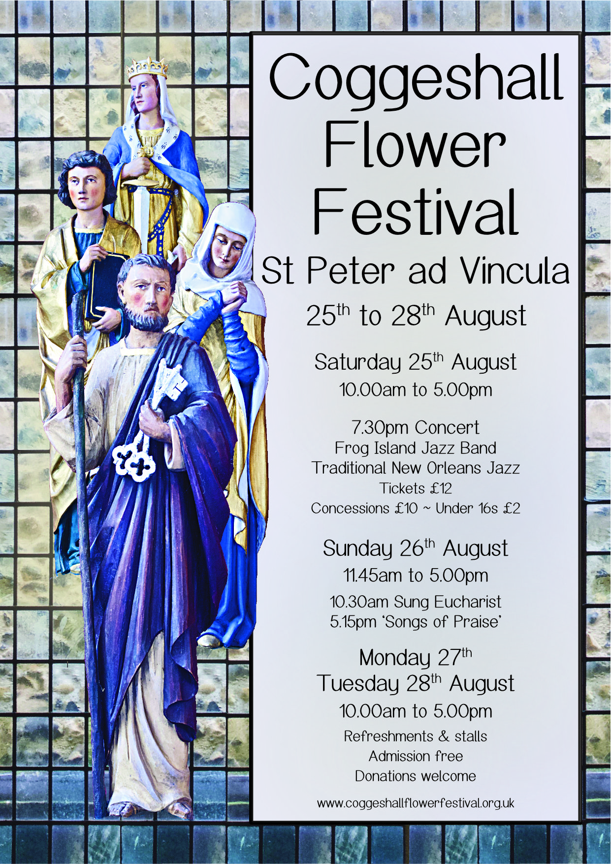 Coggeshall's 31st Annual Flower Festival