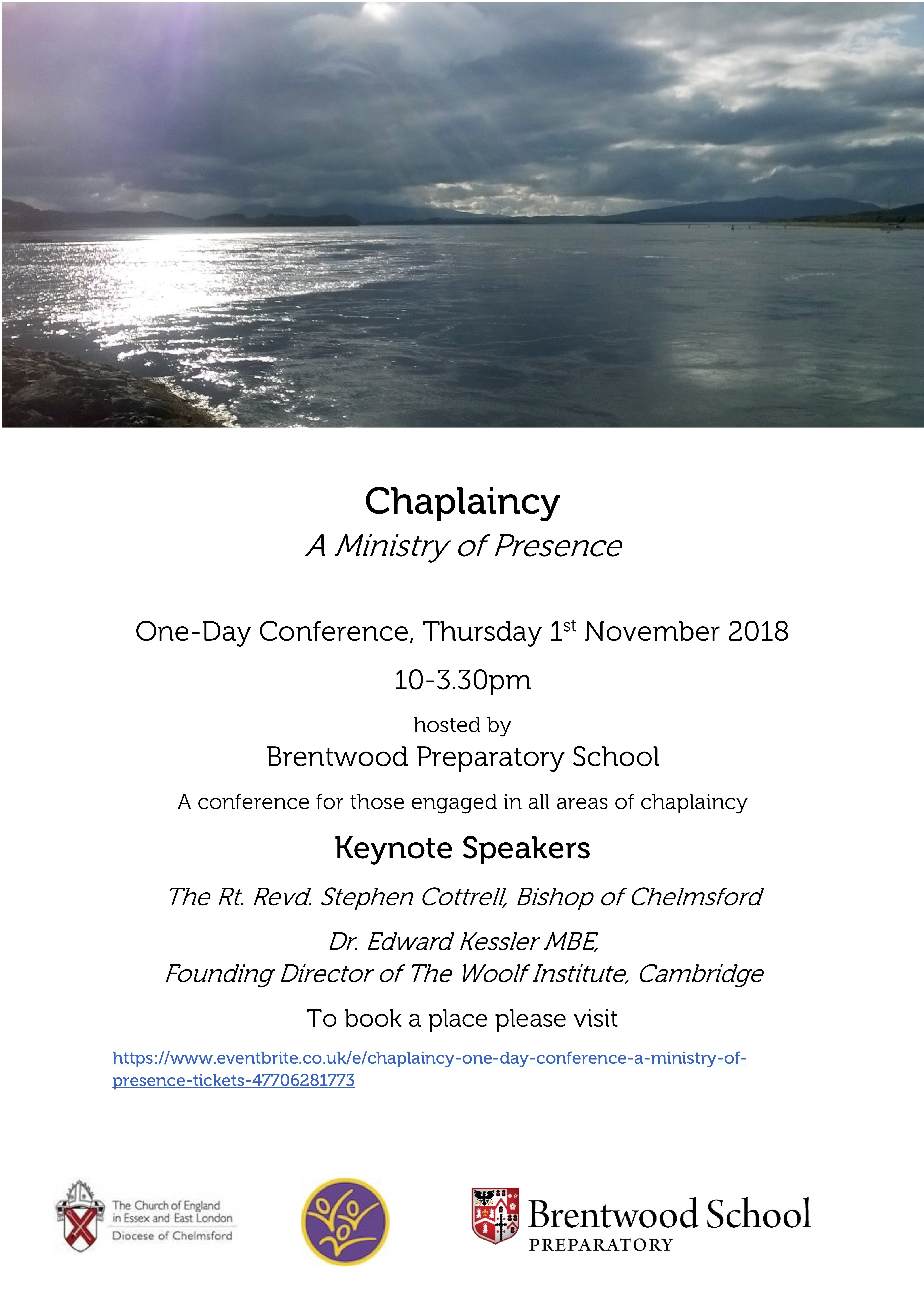 Chaplaincy One-Day Conference - A Ministry of Presence