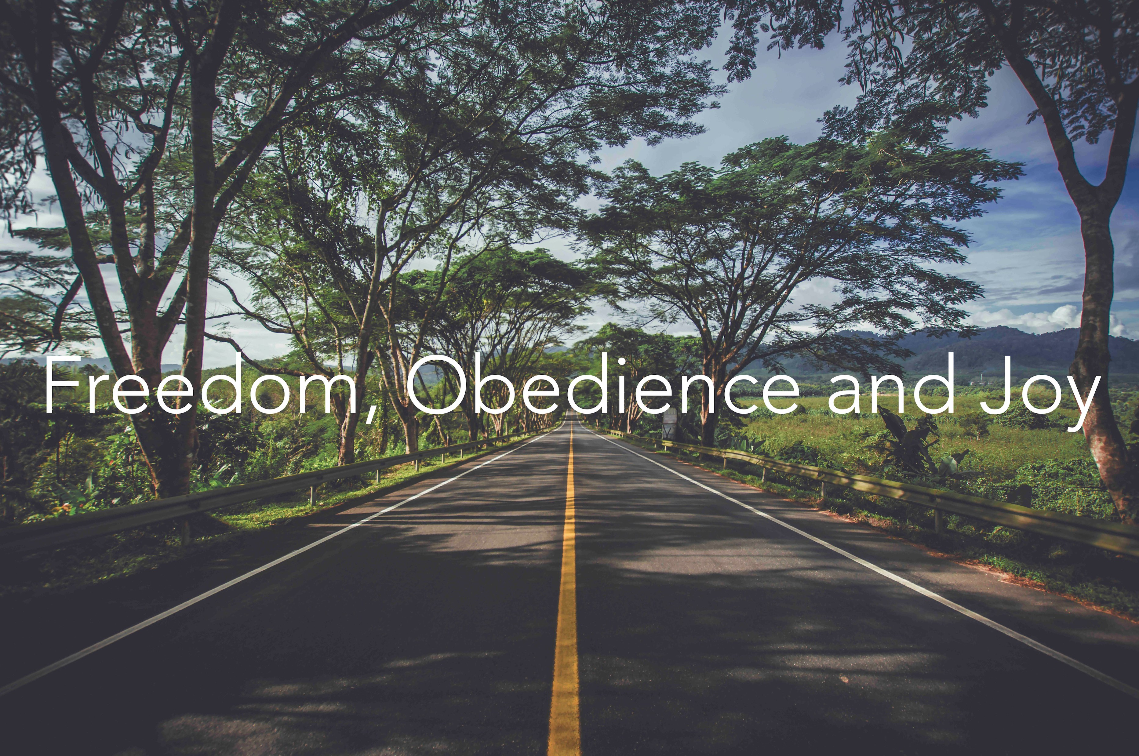 In Conversation: Freedom, Obedience and Joy