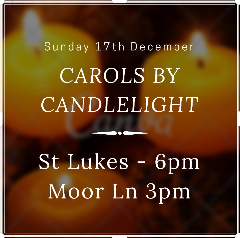St Lukes Carold by Candlelight