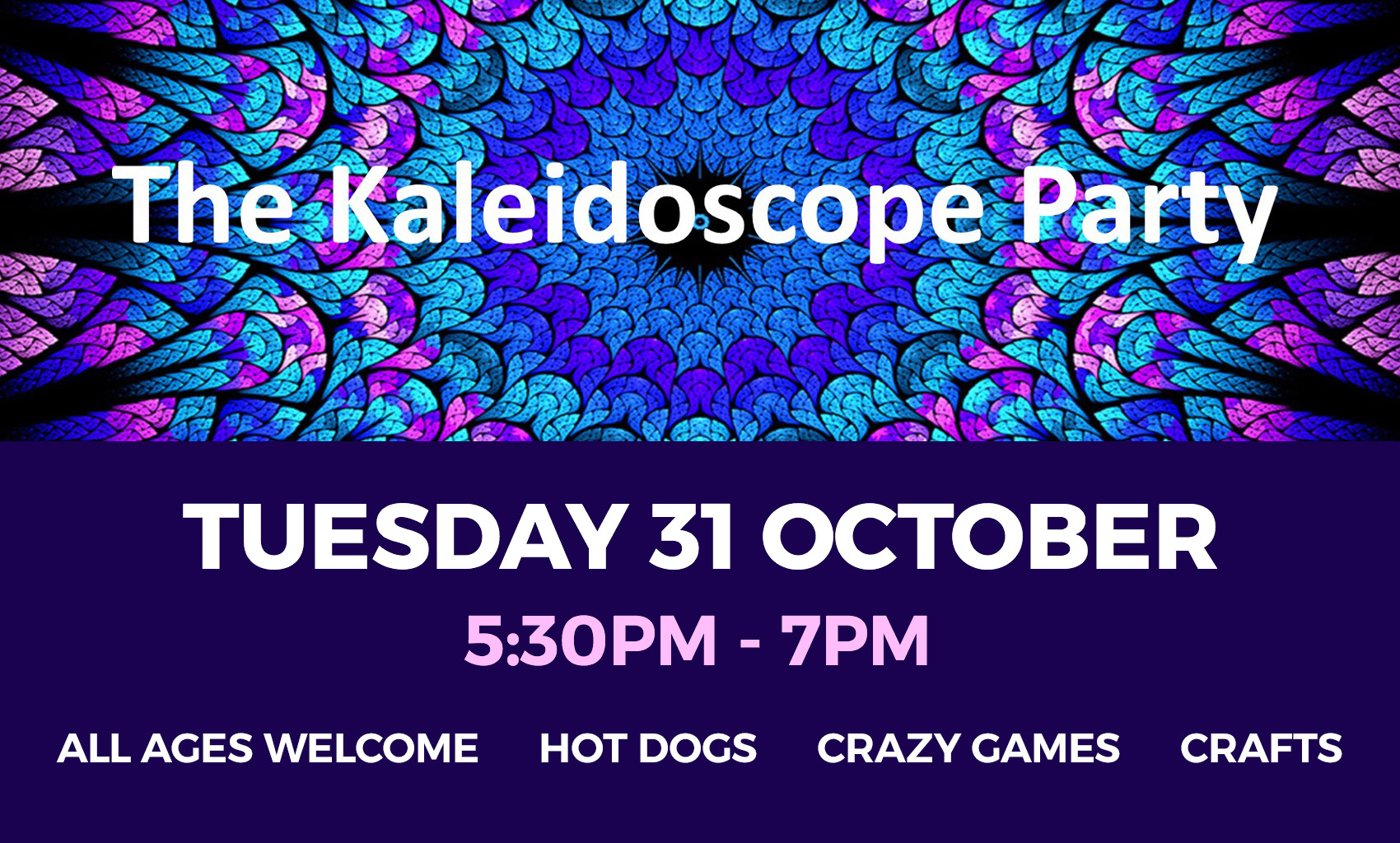 The Kaleidoscope Party st Church of Our Saviour, Chelmer Village