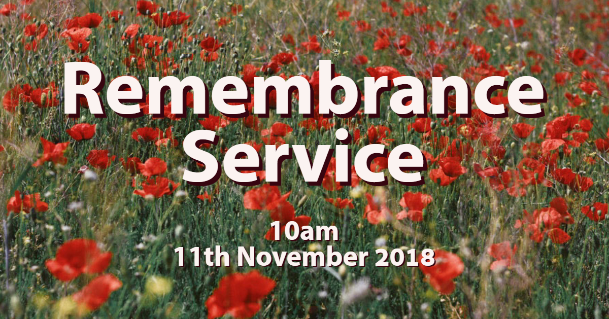 Remembrance Day Service Church of Our Saviour, Chelmer Village