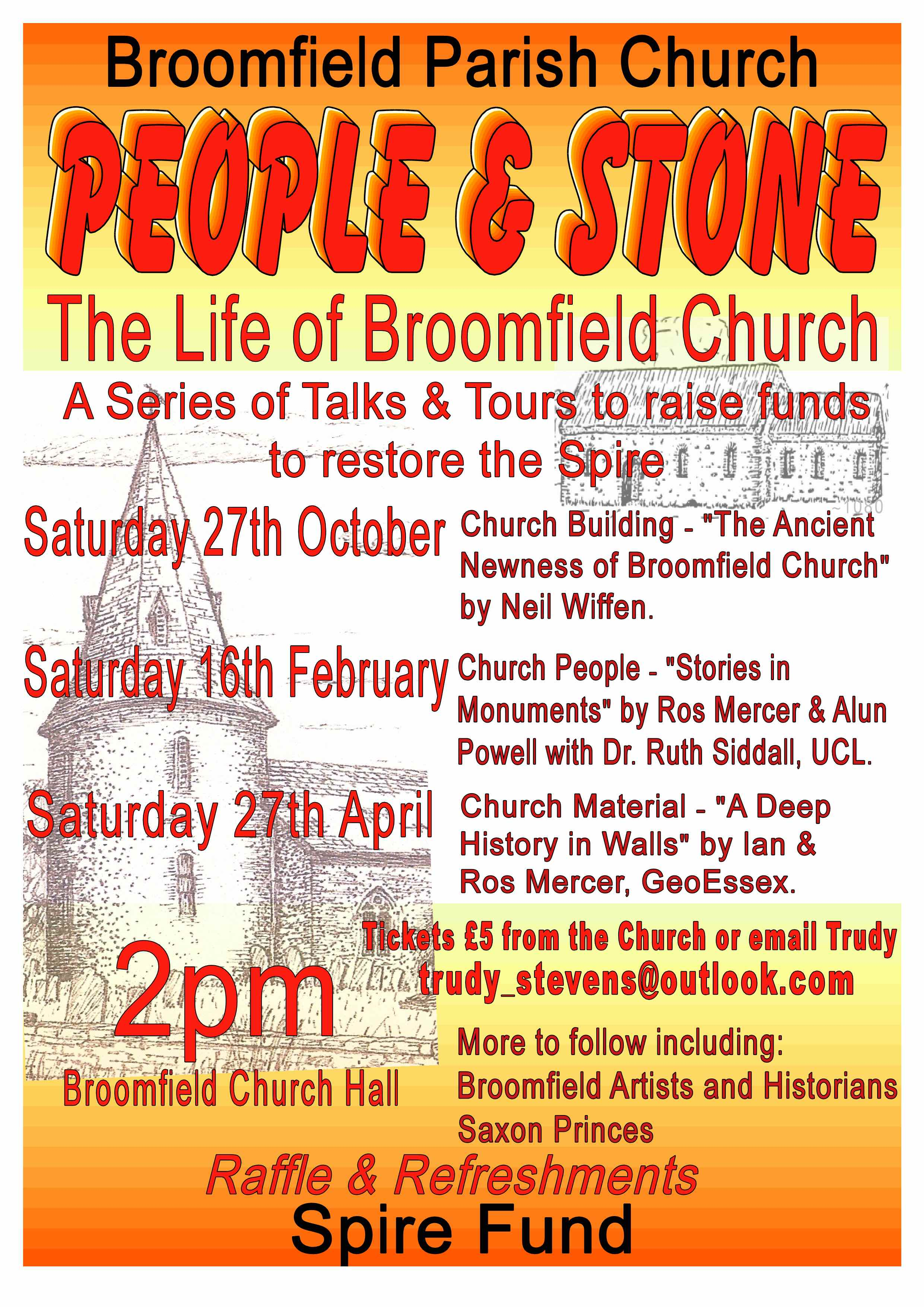 People & Stone Talk - 'Stories of the Monuments'