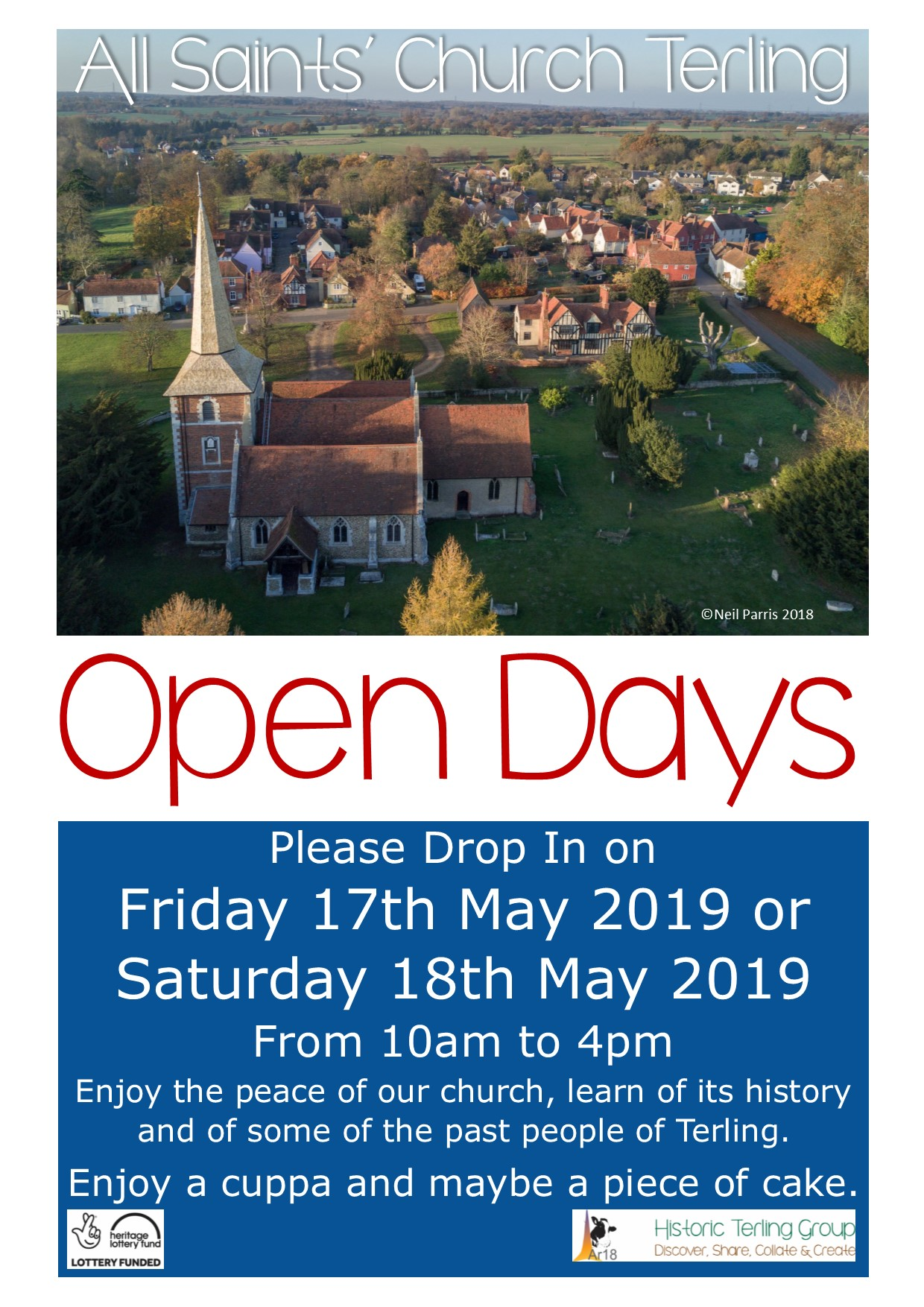 All Saints' Terling Open Days