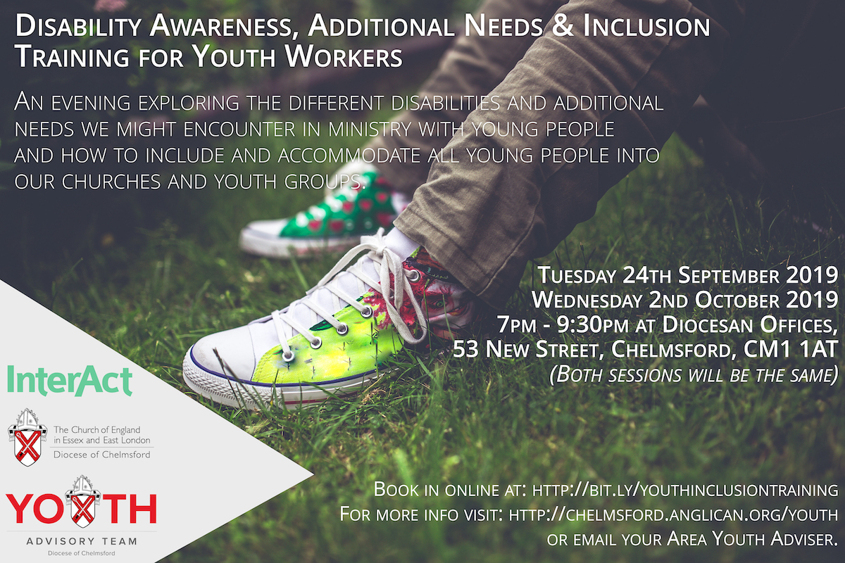 Disability Awareness, Additional Needs & Inclusion Training for Youth Workers