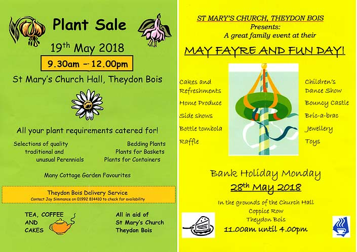 St Mary's Theydon Bios: May Fayre and Fun Day