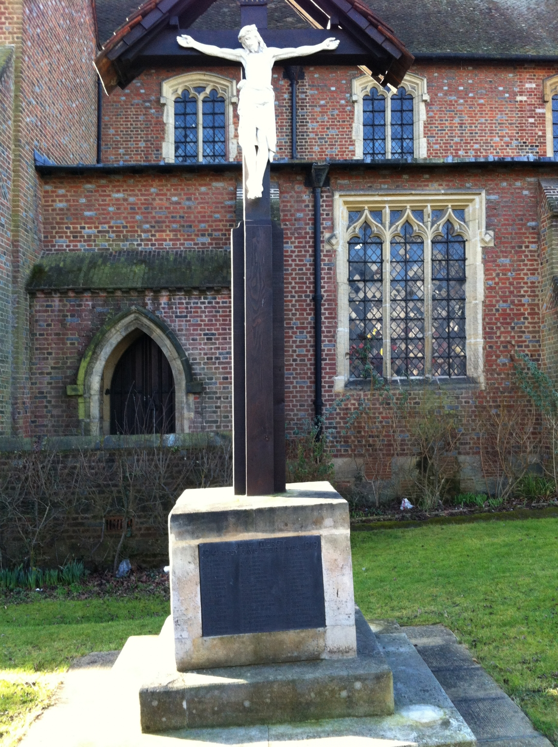 Remembrance Sunday Requiem Solemn Mass at St Barnabas, Woodford Green.
