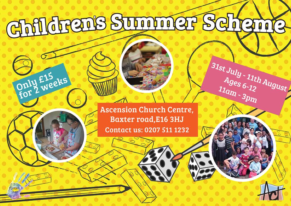 Ascension Children's Summer Scheme