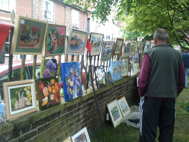 St Mary's, Wivenhoe June Market & Art on the Railings