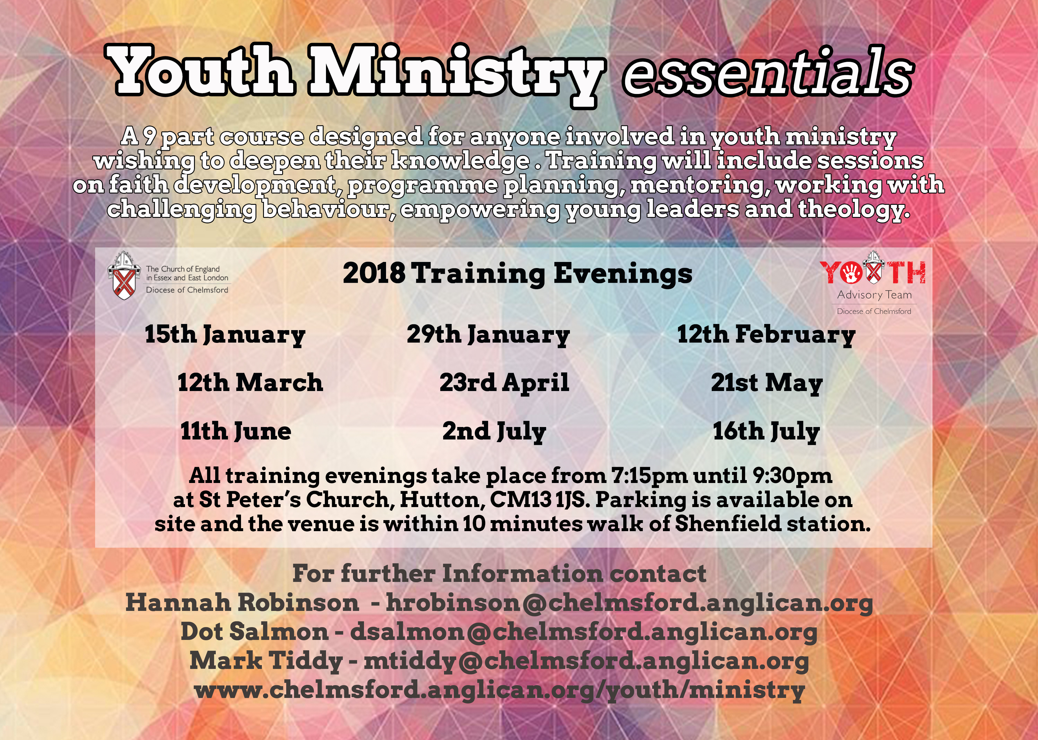 Youth Ministry Essentials - Session 2