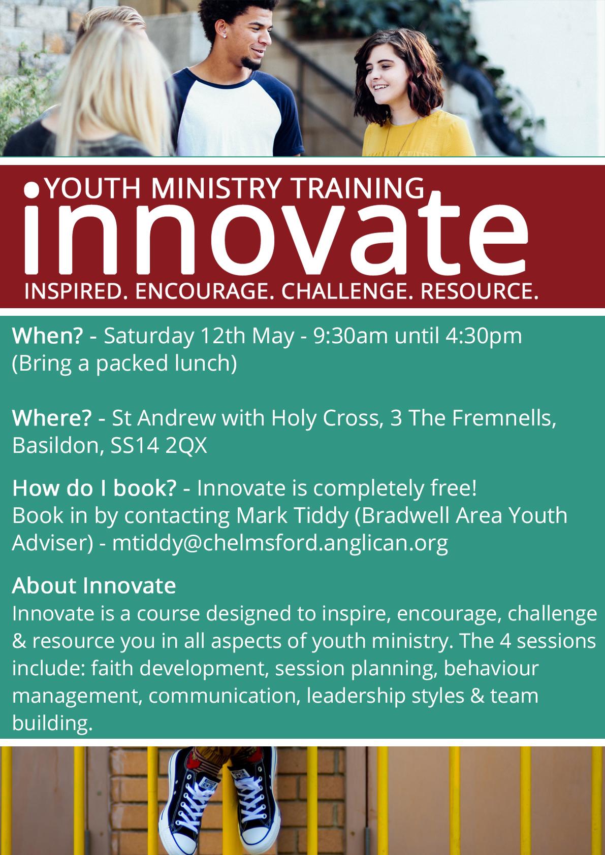 Innovate (Youth Ministry) - Basildon
