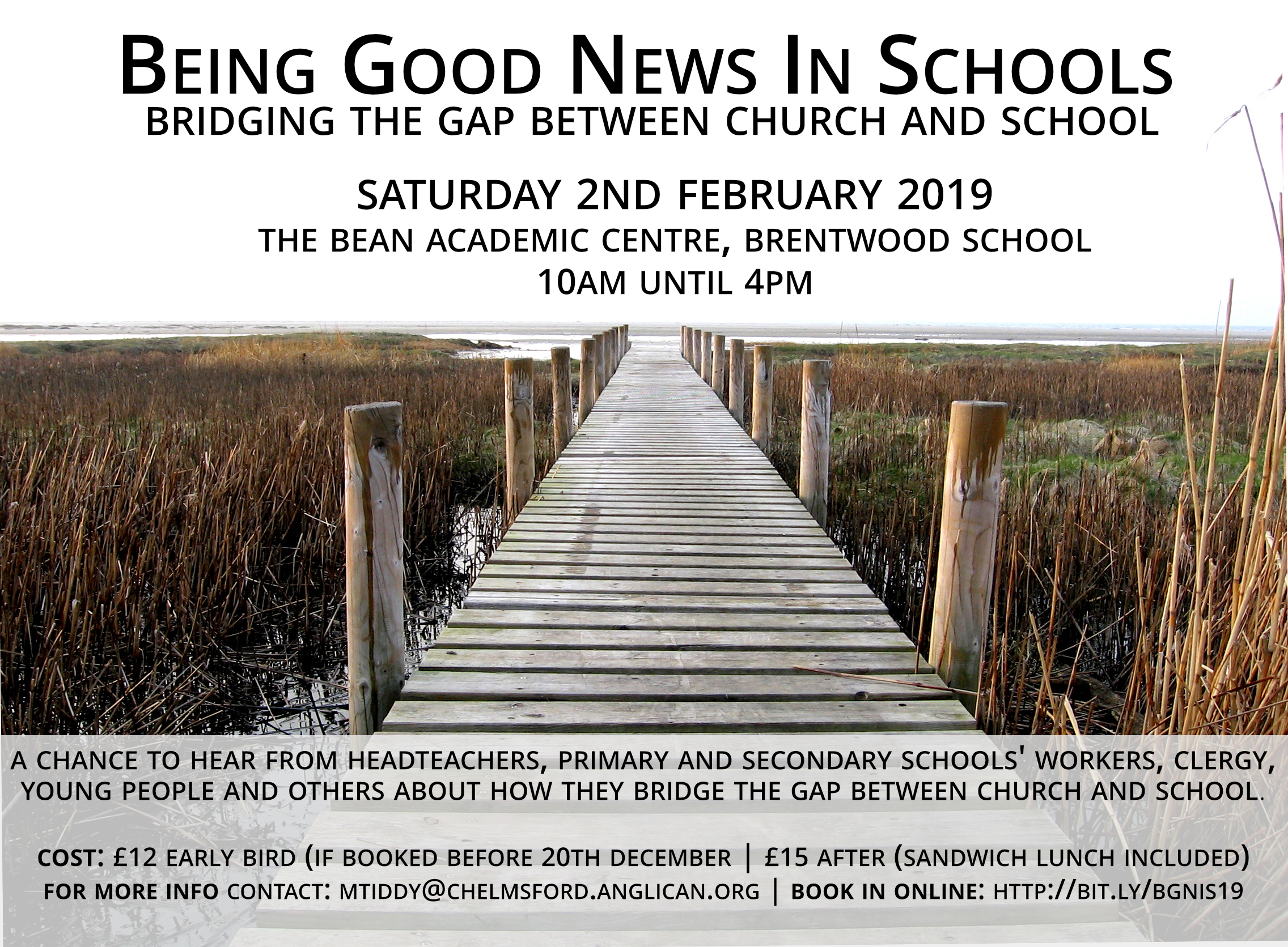 Being Good News in Schools Conference 2019