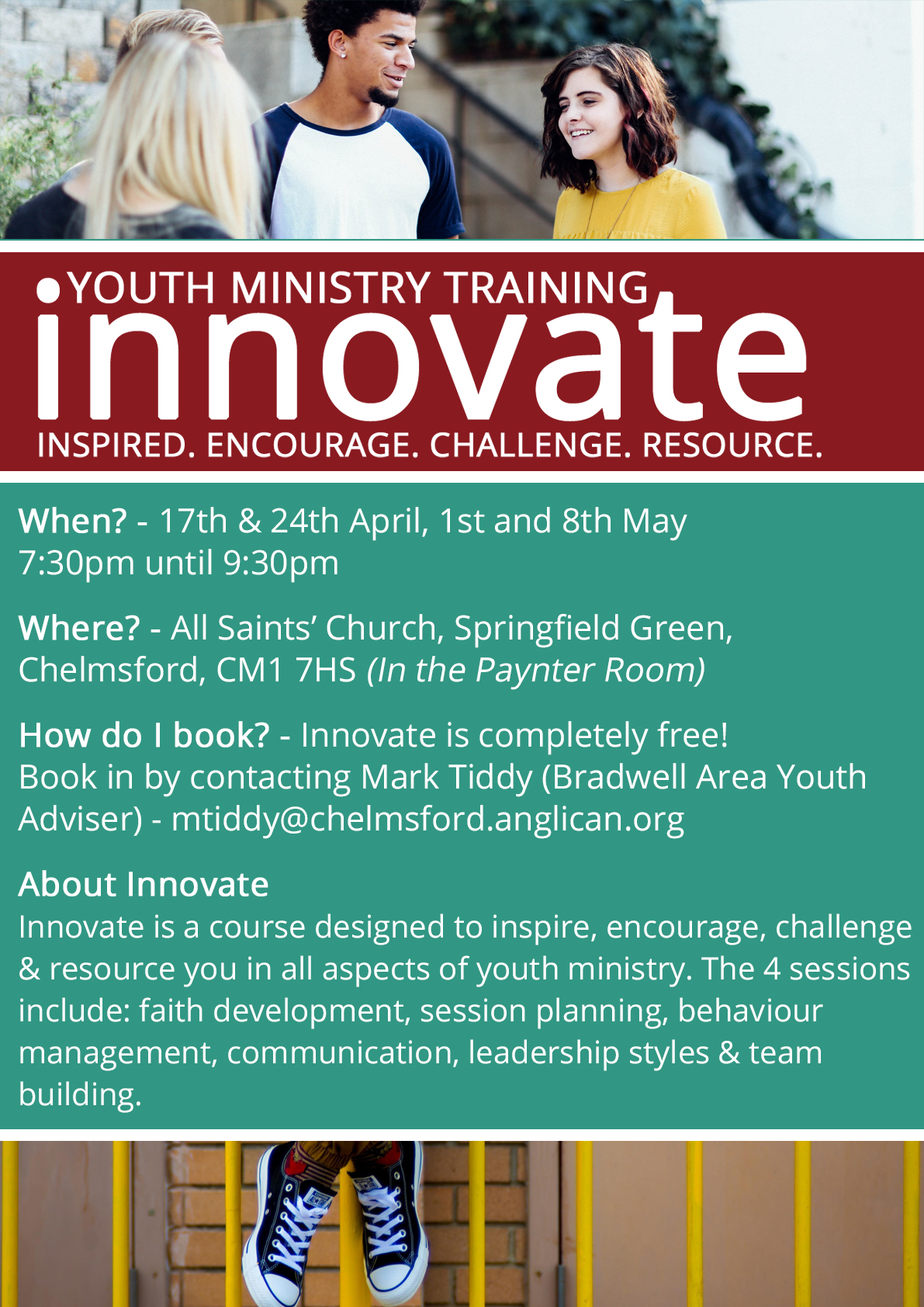 Innovate (Youth Ministry) - Chelmsford - Part 4