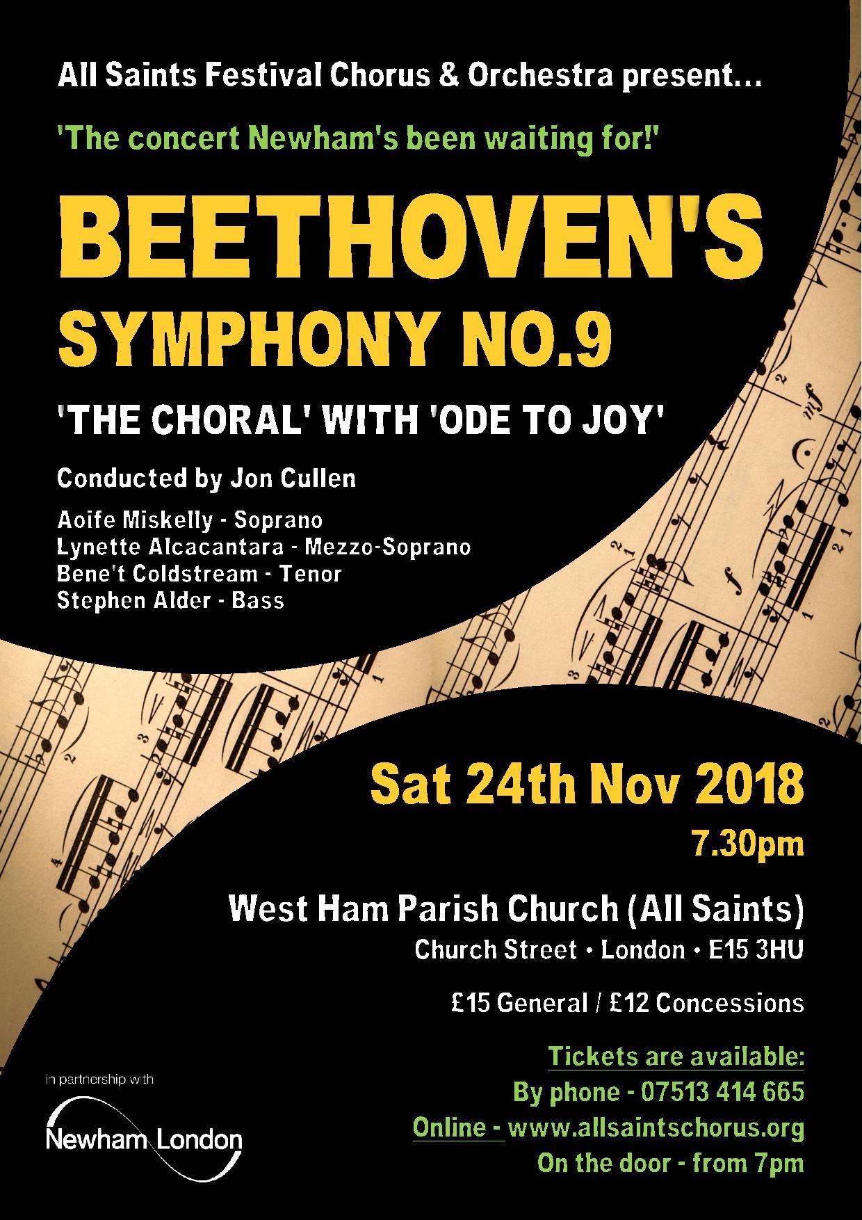 "Beethoven Symphony No 9 ""Choral'"