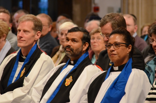 Three new Archdeacons have been installed by the Bishop of Chelmsford