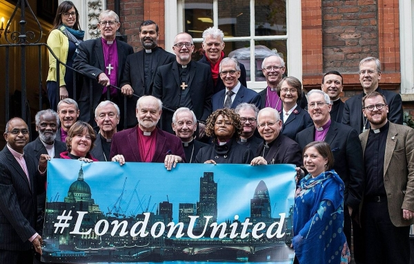 Bishop Peter: 'Support #LondonUnited and celebrate the welcome offered to strangers in our midst'